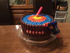 Nerf target cake