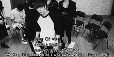 It's ok Jin, I was awkward since the day I was born too but we Army's wouldn't love you any other way :)