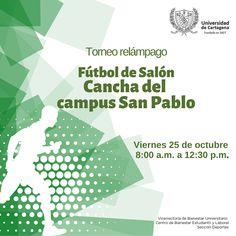 Torneo Relámpago Fútbol de Salón  #Unicartagena #Bienestar Tech Companies, Company Logo, Words, Senior Boys, Activities, Horse