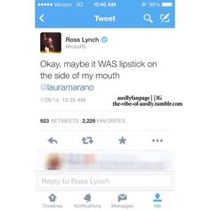 Auslly-Raura-R5 — the-vibe-of-auslly: ross lynch tweets about the...