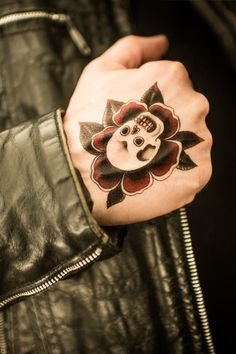 Paul Design, Monkey Mind, Temporary Tattoo, Wonderful Things, Skull, Tattoos, Rose, Artist, Temp Tattoo