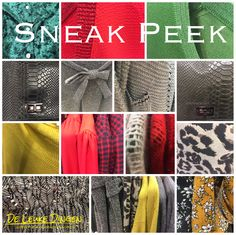 New looks👀  www.deleukedingen.nl #goodlooking #new #sweaters #blazers #skirts #cardigans #dresses #bags #trousers #prints #leopard #red #yellow #green #musthaves