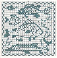 Gallery.ru / Фото #133 - Архив (44) - Olgakam Cross Stitch Freebies, Cross Stitch Charts, Cross Stitch Patterns, Knitting Charts, Knitting Stitches, Knitting Patterns, Crochet Cross, Filet Crochet, Cross Stitching
