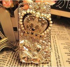 Crown iphone case, iPhone 5 case, iphone 4 case, bling iphone 4 case,iPhone 4s case,unique iphone 4 case, iPhone case,phone case