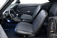 '69 Chevrolet Camaro SS - Chevy Hardcore custom door panels and console