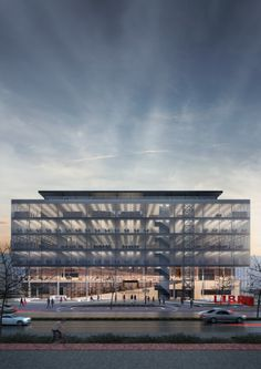 Varna Regional Library, Architects for Urbanity – Beta Architecture Library Architecture, Cultural Architecture, Architecture Visualization, Facade Architecture, Bulgaria, Prize Competitions, Parking Building, Library Design, Facade Design
