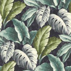 Palma Tropical Wallpaper Navy - Wallpaper from I Love Wallpaper UK Flamingo Wallpaper, Navy Wallpaper, Tropical Wallpaper, Botanical Wallpaper, Tree Wallpaper, Modern Wallpaper, Textured Wallpaper, Pattern Wallpaper, Latest Wallpaper