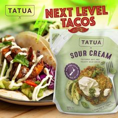 Sour Cream, Tacos, Mexican, Dishes, Ethnic Recipes, Food, Meal, Eten, Utensils