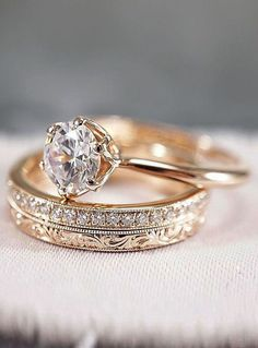 30 Rose Gold Wedding Rings You'll Fall In Love rose gold wedding rings round cut. 30 Rose Gold Wedding Rings You'll Fall In Love rose gold wedding rings round cut solitaire simple Engagement Ring Rose Gold, Wedding Ring Finger, Wedding Rings Solitaire, Classic Engagement Rings, Wedding Rings Rose Gold, Wedding Rings Vintage, Gold Rings, Solitaire Diamond, Solitaire Engagement