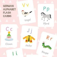 29 Best Alphabet Flash Cards images in 2019 | Crafts for