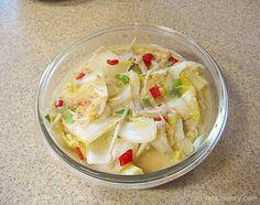 배추볶음 / 초간단 반찬 배추볶음 만드는 법 :: 4월의라라 | 맛난 요리, 건강한 집밥
