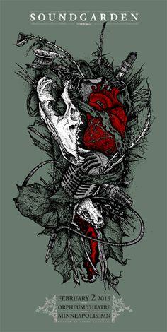 Soundgarden - Viral Graphics - 2013 ----