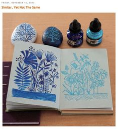 Geninne's Art Blog featured on A Laughing Gate blog.