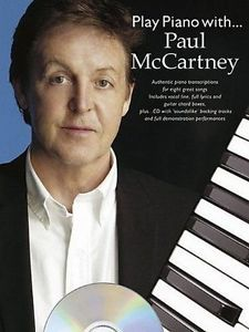 Play Piano With Paul McCartney-Authentic Piano transciptions-Music... 1846094240   eBay