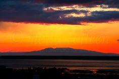 Anchorage, Alaska / Sleeping Lady Mountain aka Mt. Susitna Sunset 2012
