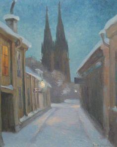 Ernst Nilsson (1892-1937): Åsgränd