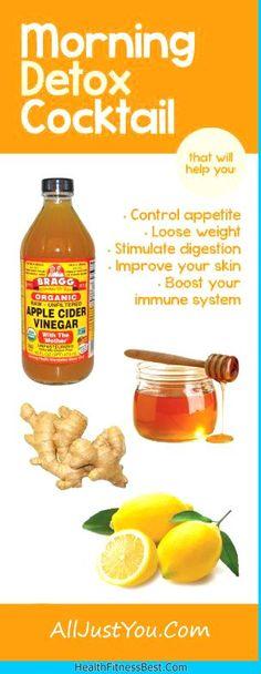 The Healthy Wonders of Apple Cider Vinegar - #Health #weight #Lose #Detox