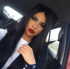 make up look for black hair Pretty Makeup, Love Makeup, Beauty Makeup, Makeup Looks, Hair Beauty, Makeup Style, Gorgeous Makeup, Makeup On Fleek, Flawless Makeup