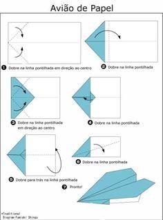 Help!: Como Fazer um Avião de Papel
