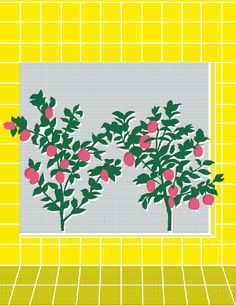 Bold, Brash and Brilliantly Fun Floral Prints by Elena Boils