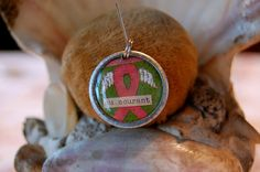 Breast cancer enlightenment charm by diddywadiddy on Etsy, $14.00