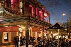 North Adelaide- The Lion Hotel is a favourite watering hole for Adelaideans.  Melbourne Street, North Adelaide.