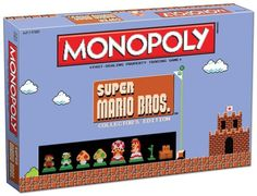 Classic Super Mario Bros. Game Now Playable As Monopoly