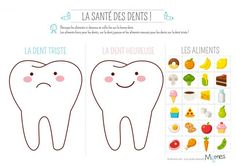 When you are teaching kids about all the important things in life one of the important things to teach them is good dental care. Playdough Activities, Health Activities, Activities For Kids, Free Alphabet Printables, Dental Kids, Health Lessons, Health Lesson Plans, Lessons For Kids, Dental Health