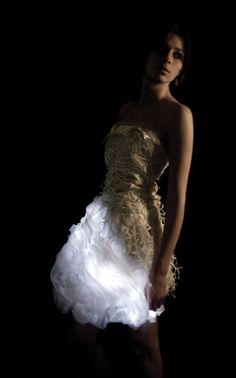 Mary Huang: LED fashion