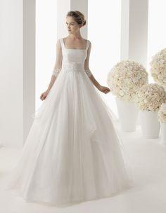 vestido de novia Rosa Clara,  wedding dress