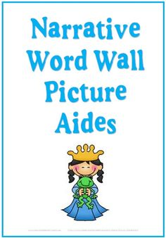 16 page teaching resource. 154 pictures, most with with matching text. A range of story elements for independent and guided writing lessons including writers workshop. 6 heading cards including Narrative Picture Aides, who, when, where, what and complication. These pictures are aimed to help young learners write their stories with the desired scaffolding. $