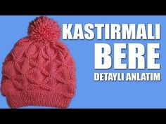 How to Knit - Beanie/Hat Knitting Stiches, Baby Hats Knitting, Knitted Baby Blankets, Knitting Videos, Crochet Videos, Baby Knitting Patterns, Knitted Hats, Crochet Coat, Crochet Baby