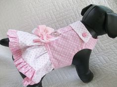 Hey, I found this really awesome Etsy listing at https://www.etsy.com/listing/103533990/small-ready-to-ship-dog-dress-ruffled