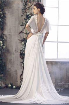 Brautkleider unter 500 Euro -  Empirebrautkleid von Coco Melody