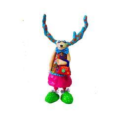 Deer sculpture ,deer antler, deer Art, deer decor, deer decoration, Christmas symbol, Christmas gifts, reindeer, deer , modren deer