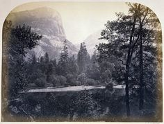 the 1861 photographs that safeguarded Yosemite – in pictures    In 1861 – only 10 years after it had been 'discovered' – Carleton E Watkins wandered the Yosemite valley, with camera equipment that weighed close to a tonne strapped to his team of mules, and snapped the awesome images that inspired Abraham Lincoln to secure the world's first national park