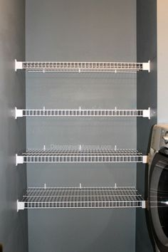 Here Is A DIY Tutorial About How To Install Wire Shelving For Your Laundry  Room, Closets, And Pantries. Itu0027s Cheap, Easy, And Takes Very Little Time.