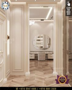 The design solution, of such a dressing room, is thought through in accordance with the parameters of the room. So, for example, the wardrobe in the bedroom can be hidden behind the partition at the headboard. #luxurydesign #luxury #luxurylifestyle #luxuryhomes #luxuryfurniture #luxurylife #luxurywardrobe #wardrobe #wardrobeideas #wardrobedoors #wardrobeorganization #dressingroomideas #furniture #furnituredesigns #dressingroomdesign Interior Design Companies, Luxury Interior Design, Interior Architecture, Luxury Furniture, Furniture Design, Luxury Wardrobe, Wardrobe Organisation, Dressing Room Design, Wardrobe Doors