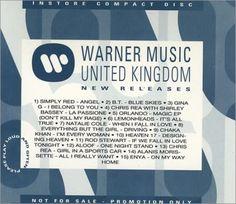 Various Artists Warner Music Promo Cd #103 2000 UK CD album PROMOCD103: VARIOUS ARTISTS Warner Music Promo (UK 15-track promo CD including…