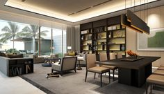 SCDA Mixed-Use Development Sanya, China- Show Villa (Type 2) Lounge Living area