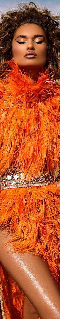 Orange Color, Orange Shades, Orange Style, Feather Fashion, Recognition Awards, Orange Fashion, Orange Crush, Orange Is The New Black, Be A Nice Human