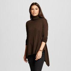 Women's Sharkbite Turtleneck Sweater - Mossimo™ : Target