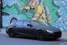 This Is Why Matte Black Maserati Is So Famous! - This Is Why Matte Black Maserati Is So Famous! Matte Black Wrap, Maserati Granturismo Sport, Car Insurance Rates, Maserati Ghibli, Custom Wraps, Car Hd, Wallpaper Pictures, Car Wallpapers, Wonderful Images