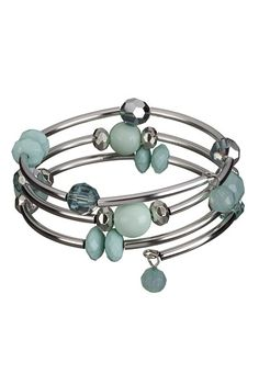 Beach Glass Coil Bracelet available at #Maurices