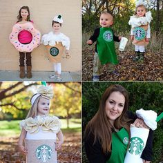 Starbucks Halloween Costumes For Kids and Babies | POPSUGAR Moms