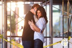 A little urban lovin'! Phoenix Bride and Groom, Phoenix #Wedding #Magazine, Eyes 2 See Photography, Phoenix #engagement session