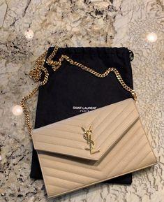 YSL monogram Wallet on Chain on Mercari Fashion Handbags, Purses And Handbags, Fashion Bags, Style Fashion, Luxury Purses, Luxury Bags, Ysl Wallet On Chain, Sac Michael Kors, Vetement Fashion
