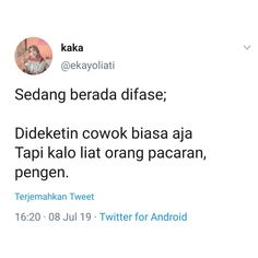 mood sekarang Quotes Lucu, Jokes Quotes, Me Quotes, Qoutes, Funny Quotes, Memes, People Quotes, Twitter, Islam