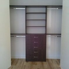 take down the closet wall - instead of built in use dresser - add shoe cubbies