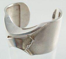 Bjorn Weckstrom  Lapponia  Man from Mercury cuff bracelet  1969